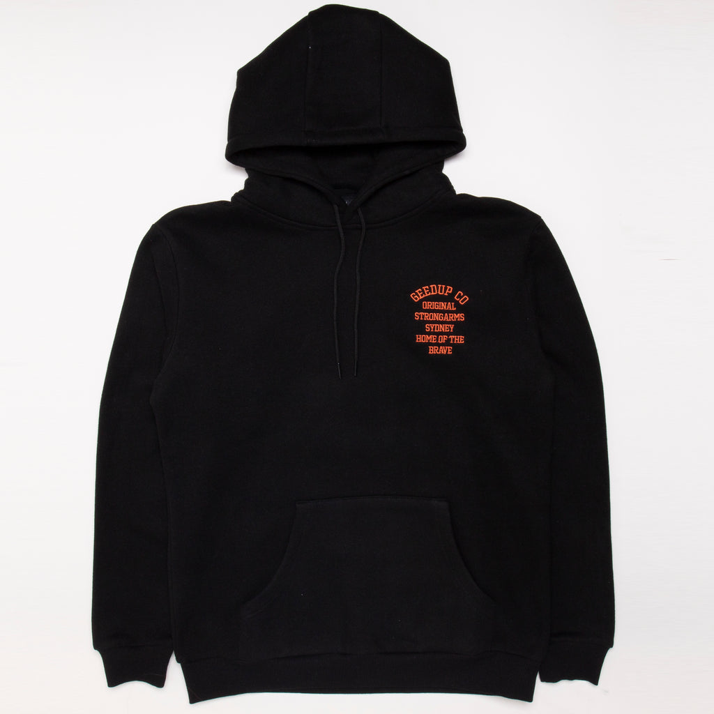 Home of the brave Hoody Black
