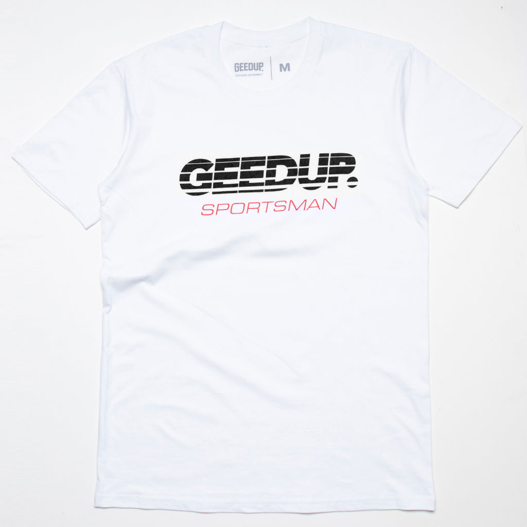 Sportsman Tee White