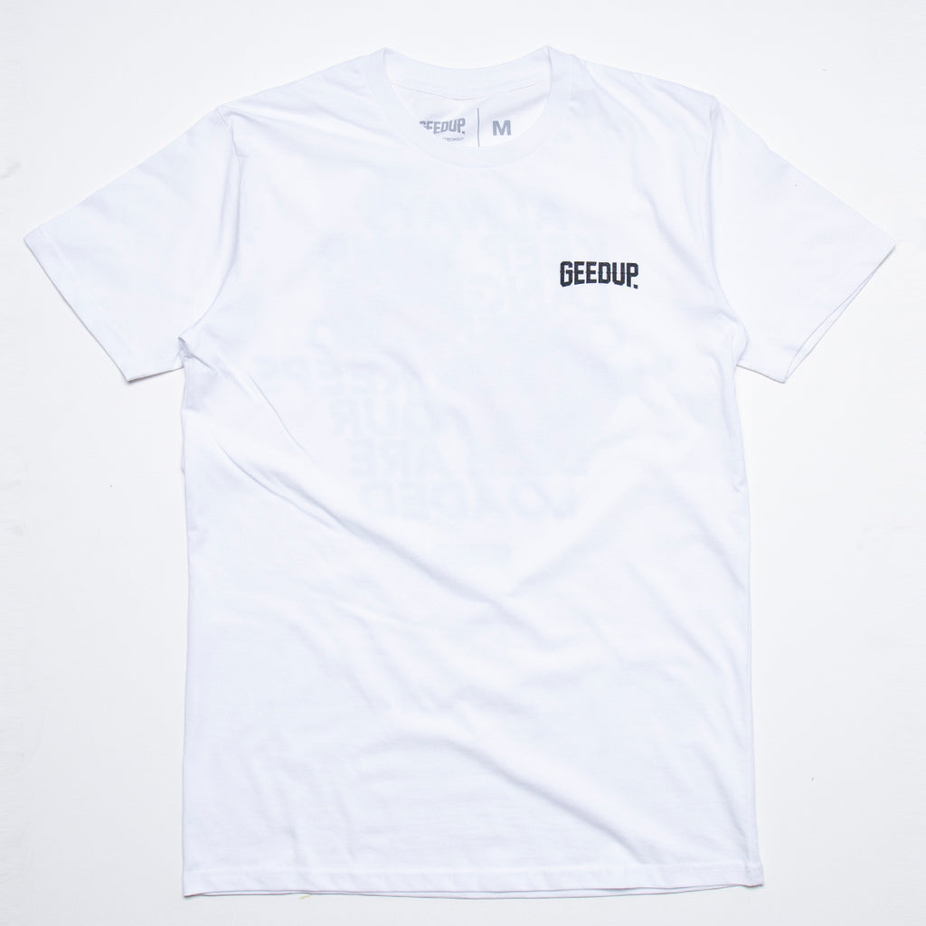 Loaded Dice Tee White