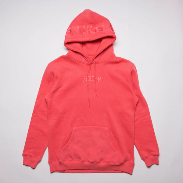 PLAY FOR KEEPS Hoody Salmon