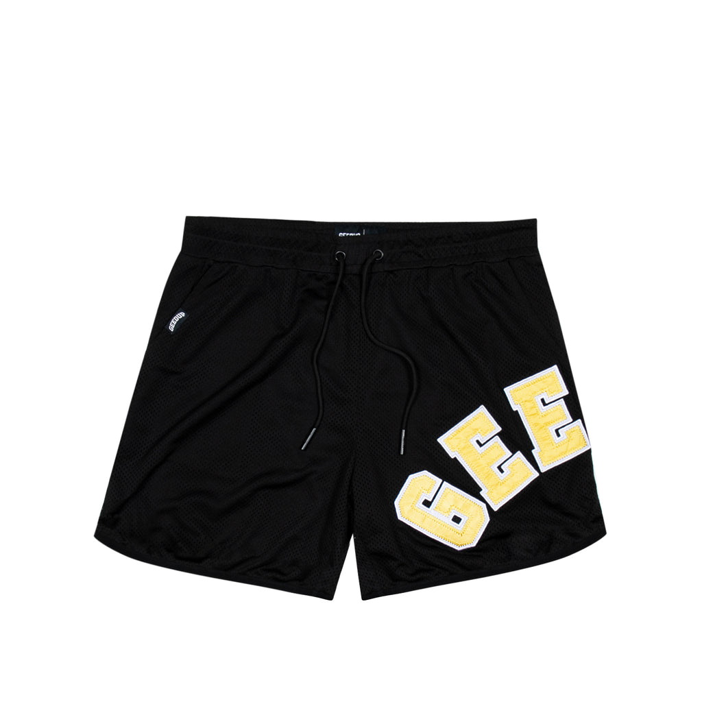 O/S College Logo B-Ball Shorts Black