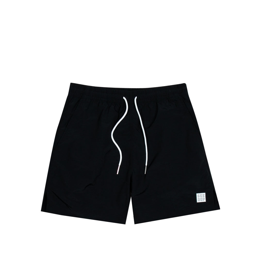 Box Logo Casual Shorts Black