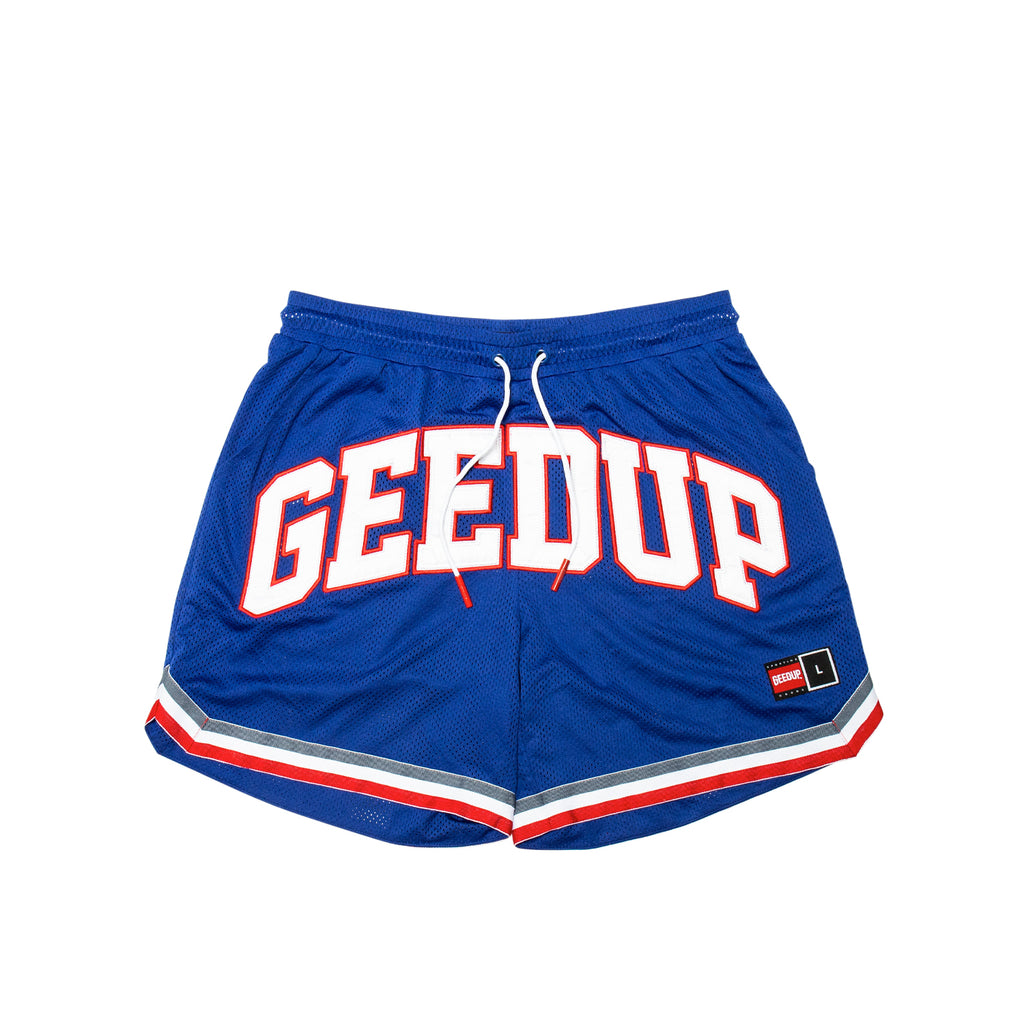 Team Logo B-Ball Short Blue