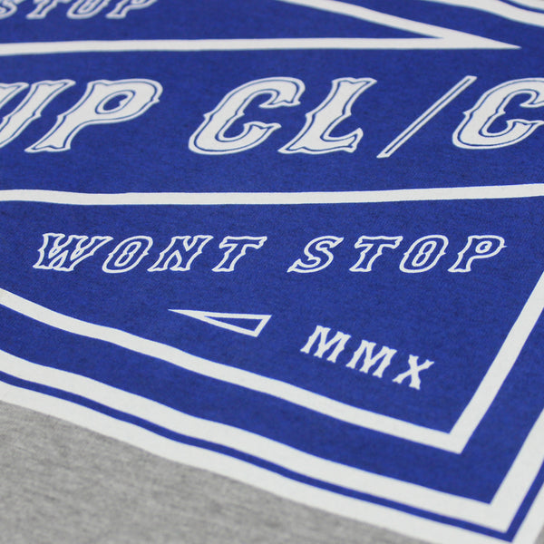 Can't Stop Tee - Grey Marle