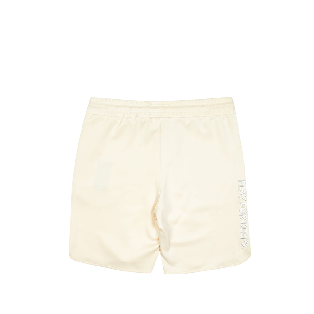 Core Logo Walk Shorts Cream
