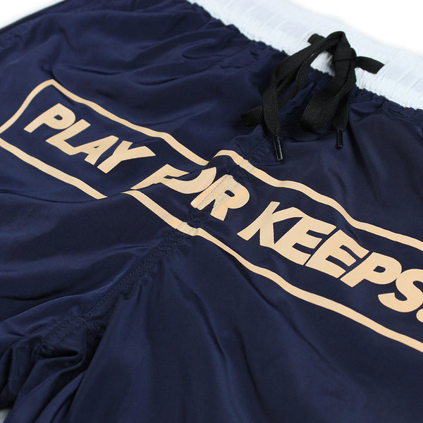 Play For Keeps Swim Shorts Navy