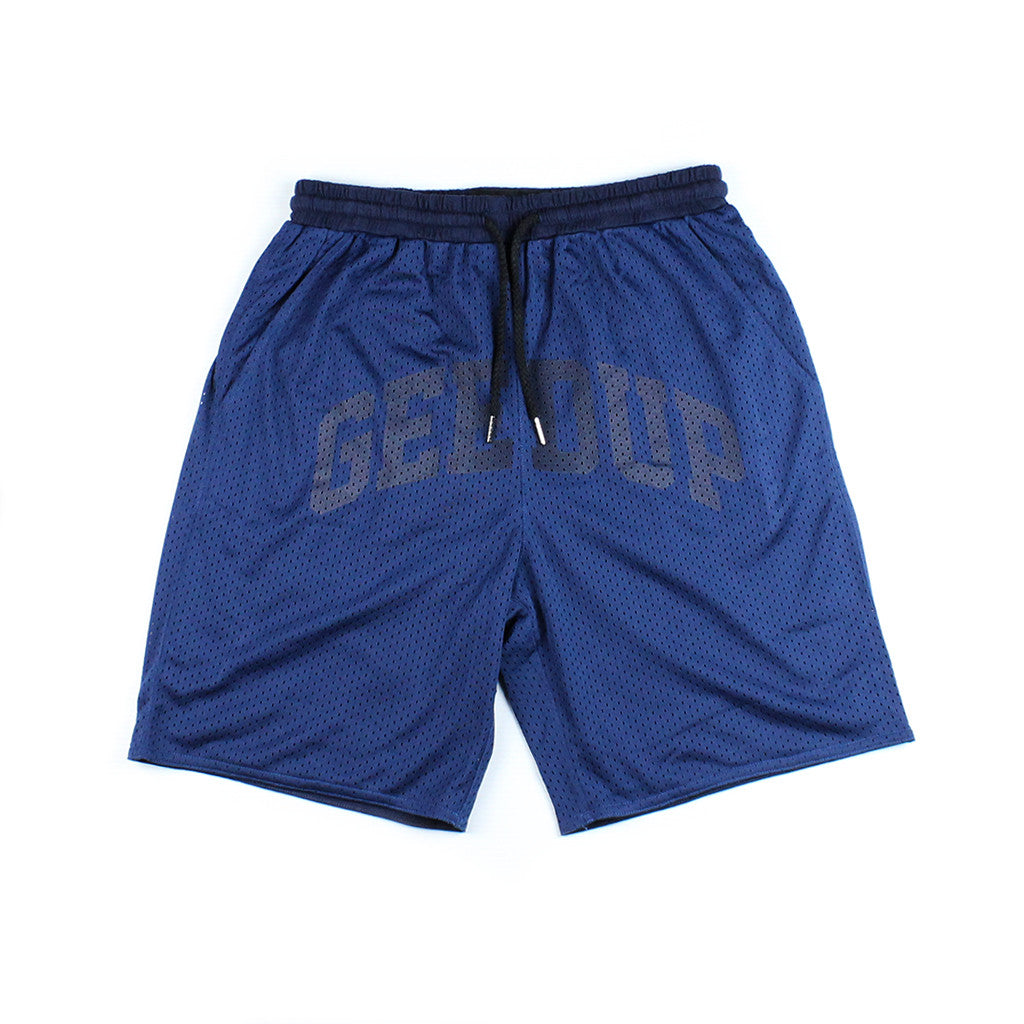 Team Logo Basketball Shorts Navy