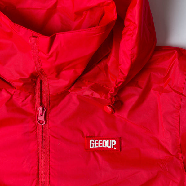 The Sheridan Field Jacket Red