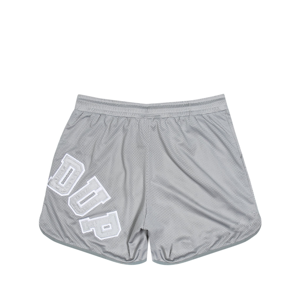 O/S College Logo B-Ball Shorts Grey