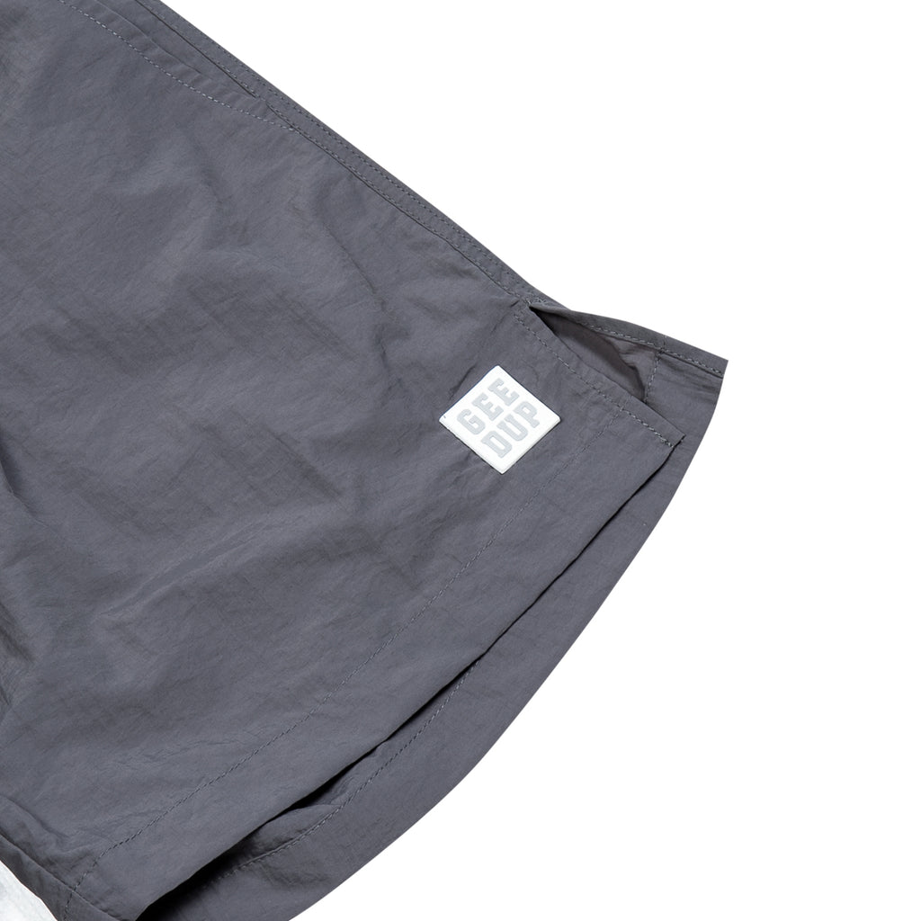 Box Logo Casual Shorts Grey