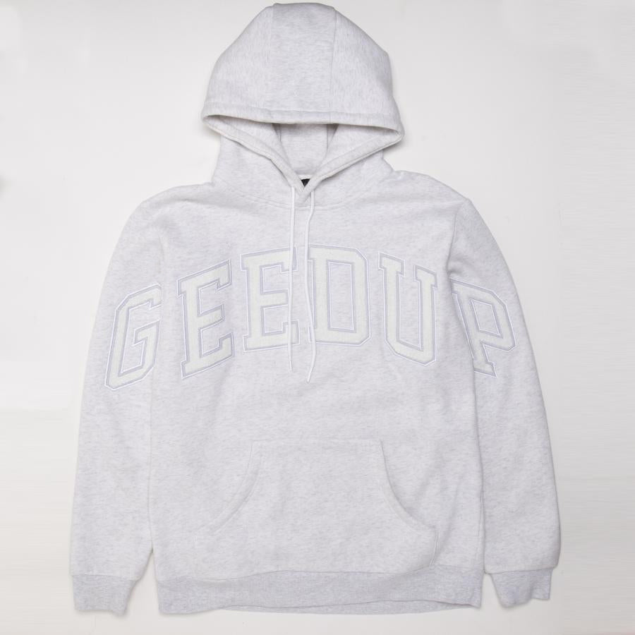 Team Logo Hoody Grey Marle