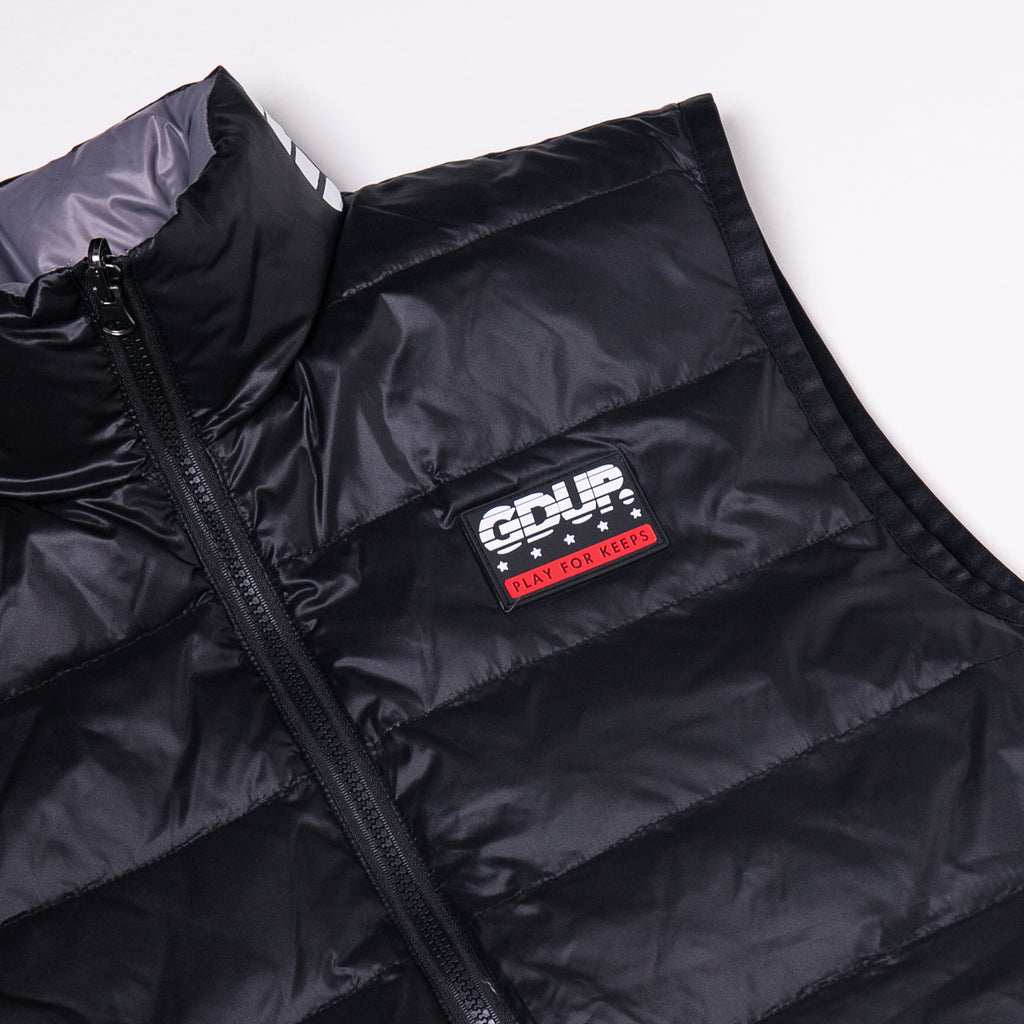 Reversible Duck Down Vest (Sportsman/Team Logo)