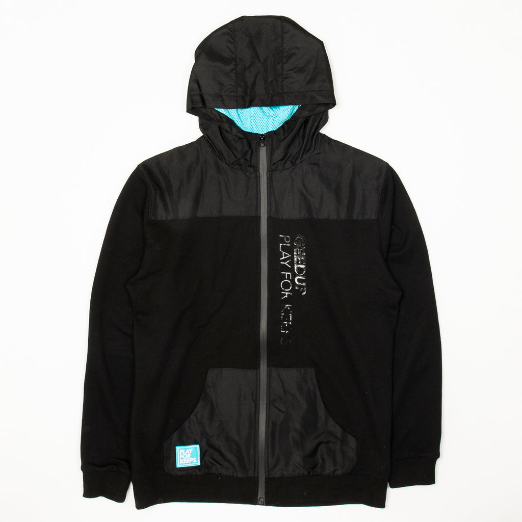 PFK 2-Tone Zip Jacket Black