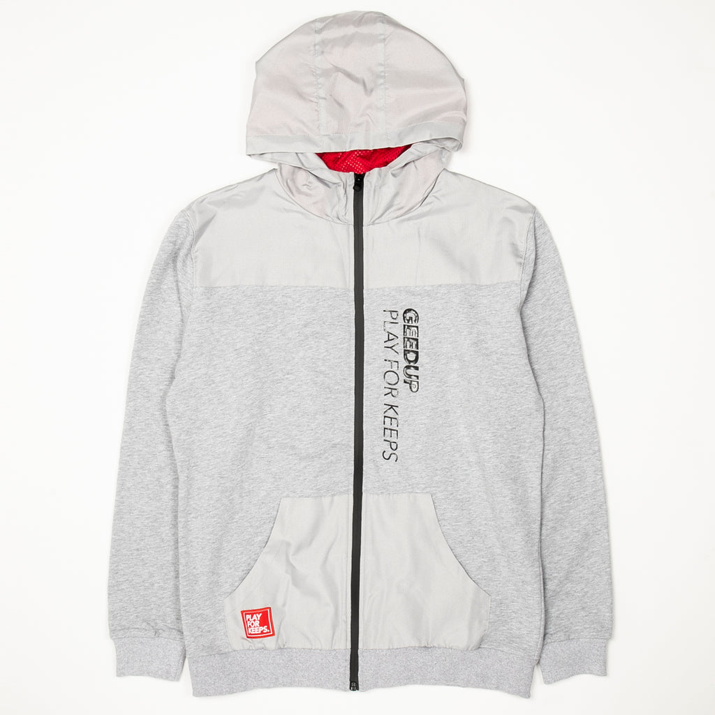 PFK 2-Tone Zip Jacket Grey