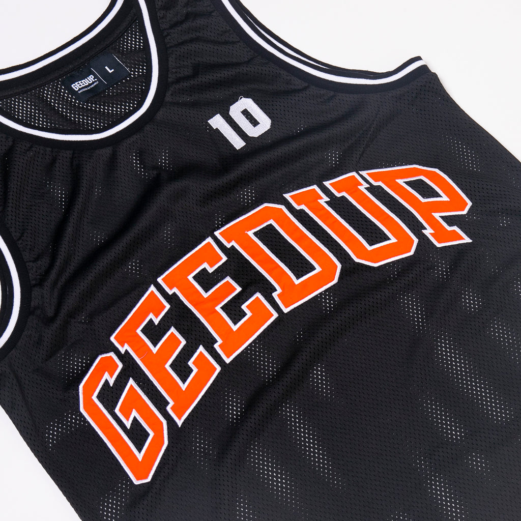 Team Logo B-Ball Jersey Black