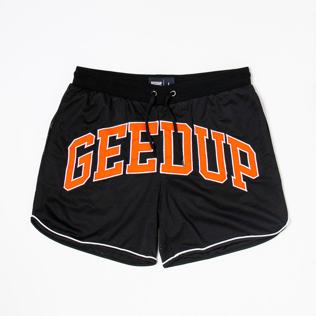 Team Logo B-Ball Shorts Black