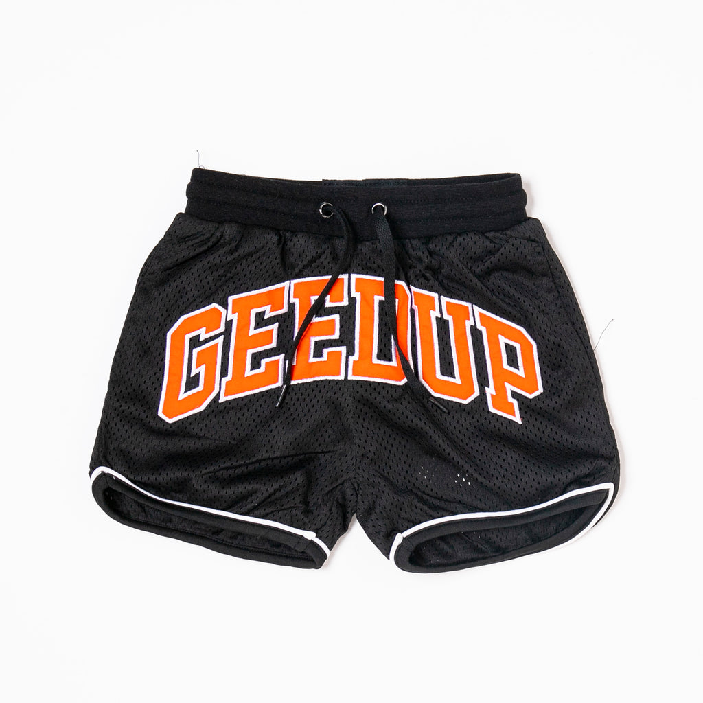 Kids Team Logo B-Ball Shorts Black