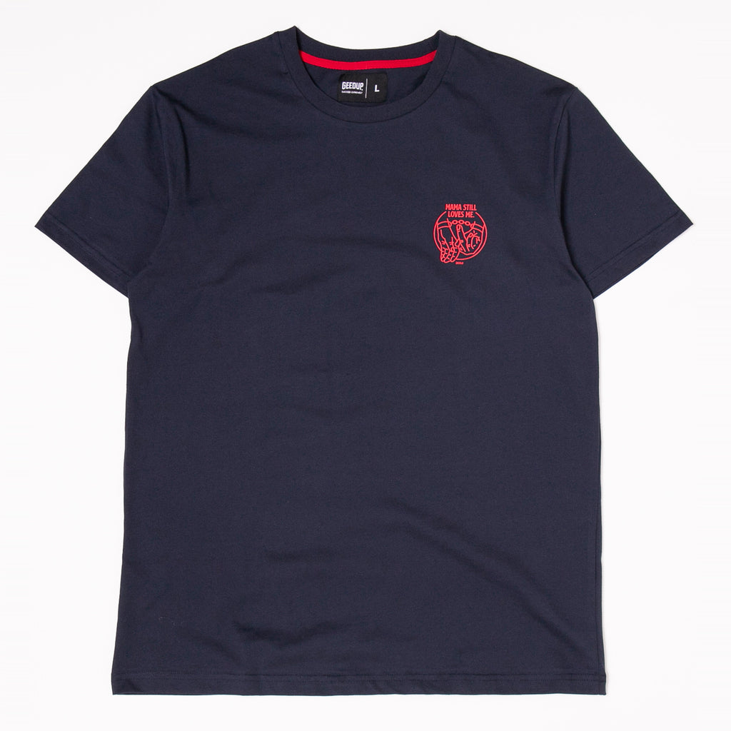Mama Still Loves Me Tee Navy