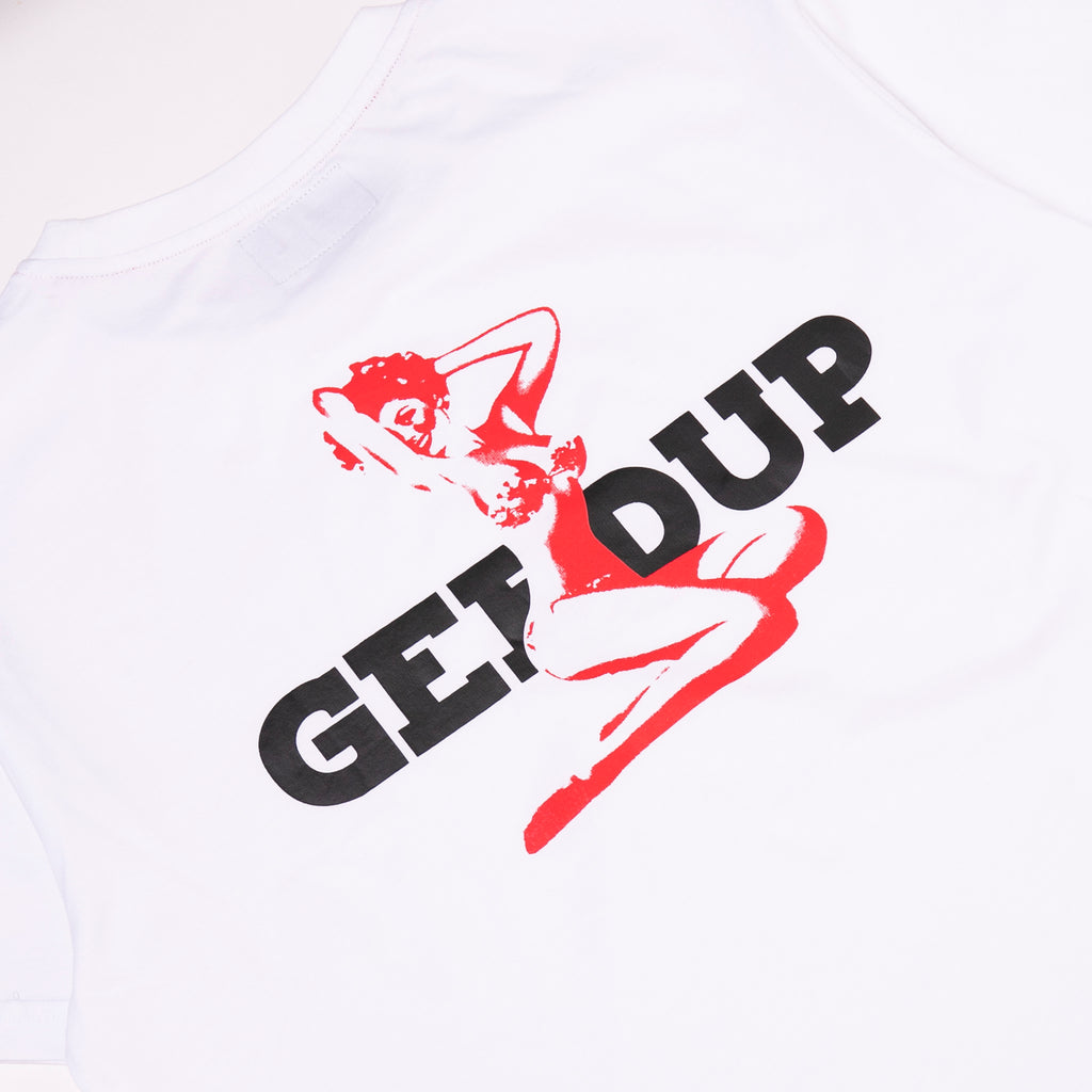 GEEDUP Playboy Tee White