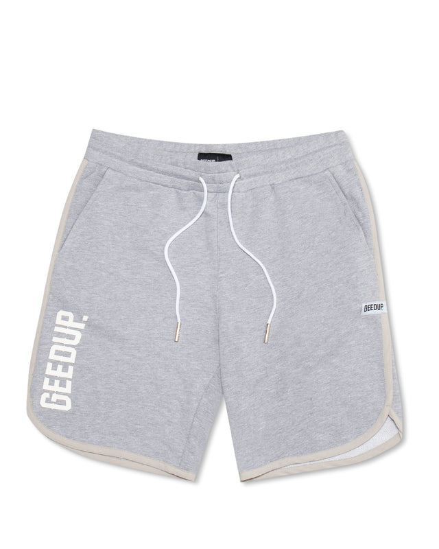 Core Logo 3D Walk Short Grey