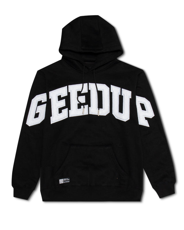 Team Logo Hoody Black/White
