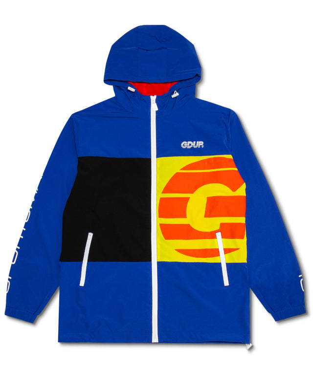 Sportsman Zip Spray Jacket Royal Blue/Hyper