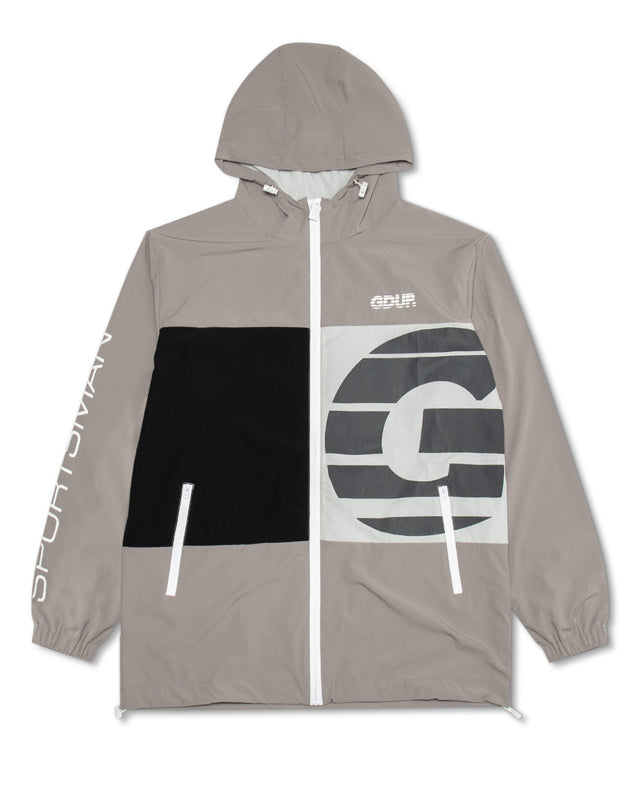 Sportsman Zip Spray Jacket Grey/Grey