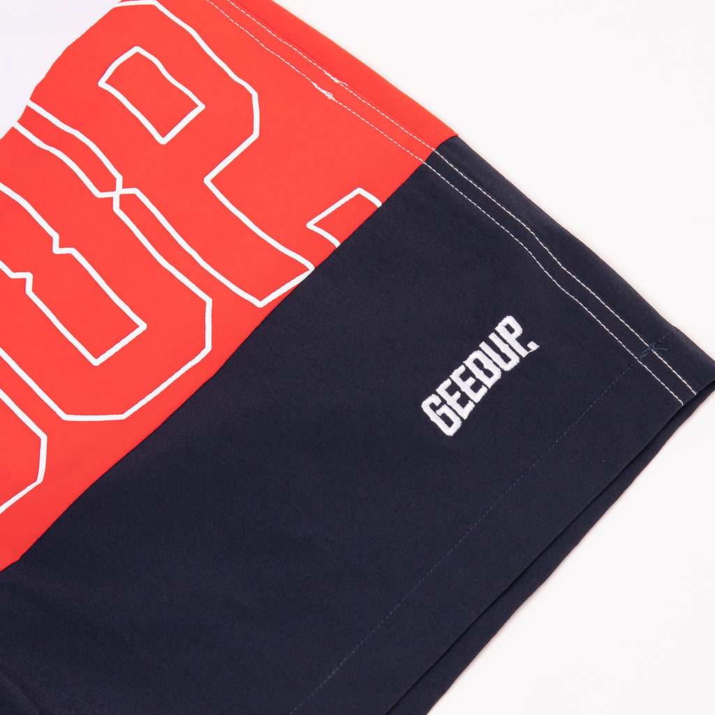 Core Logo 3P Shorts Blue/Red