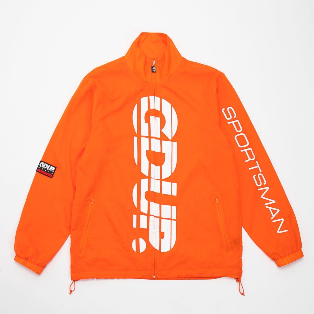 GDUP Sportsman Track Jacket Orange