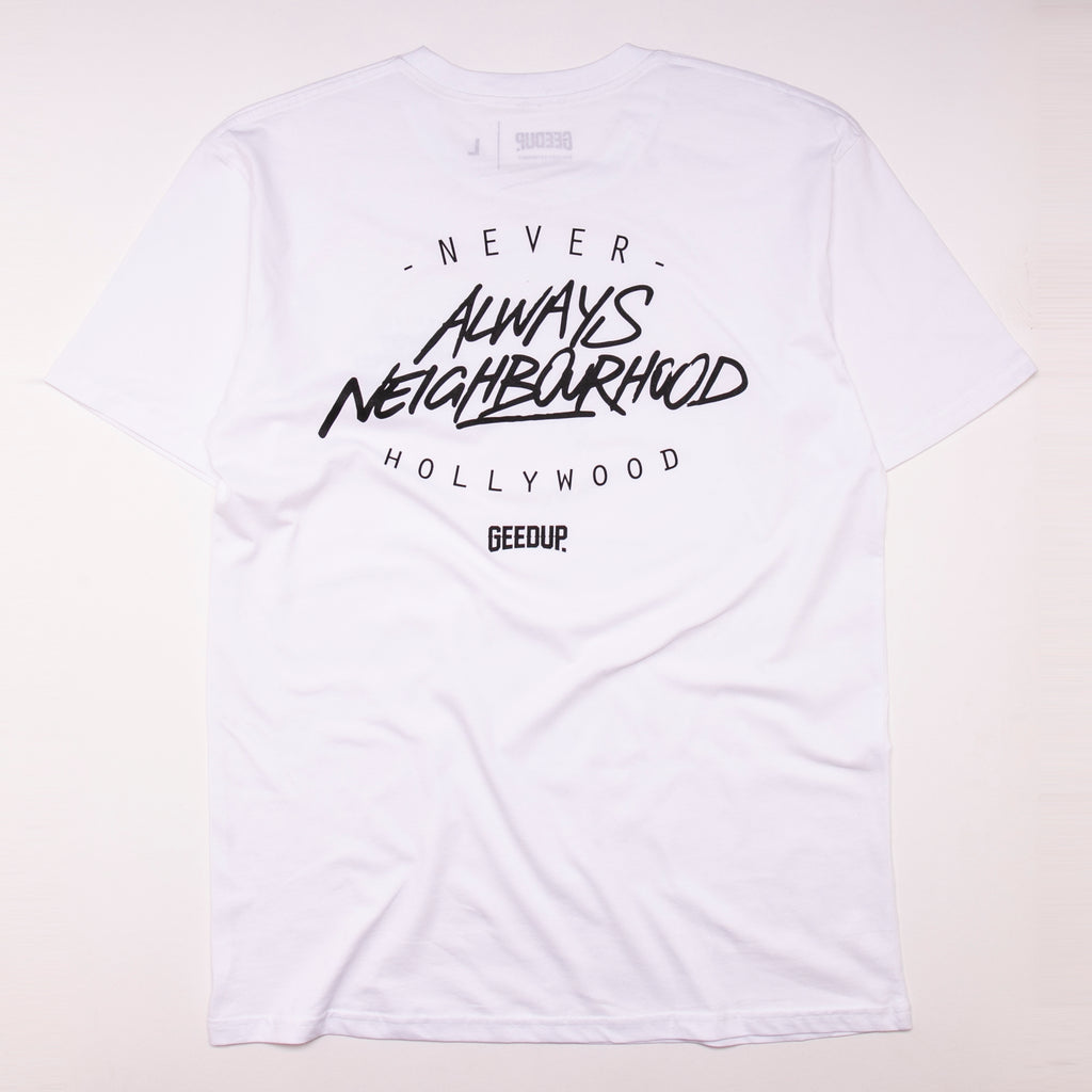 Always Neighbourhood Tee White