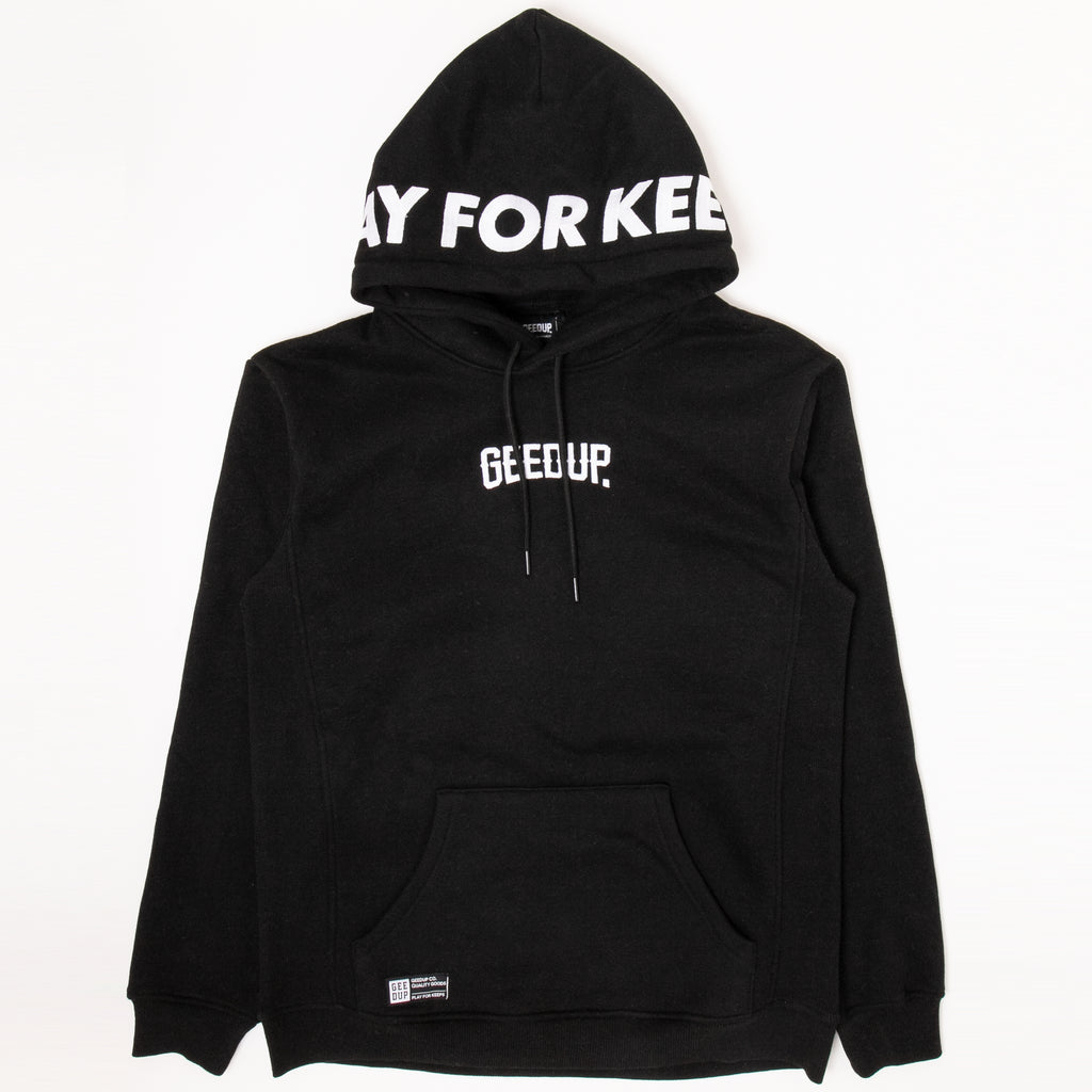 PLAY FOR KEEPS Hoody Black