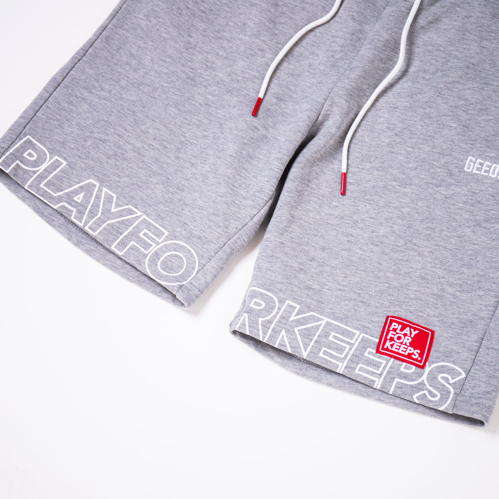 PFK Walk Shorts 2.0 Grey Marle