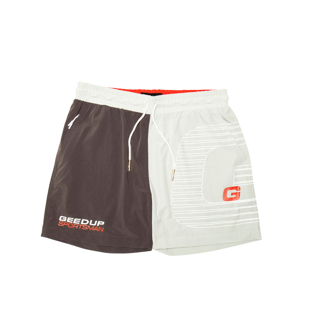 Sportsman G Logo Shorts 2-Tone/Grey