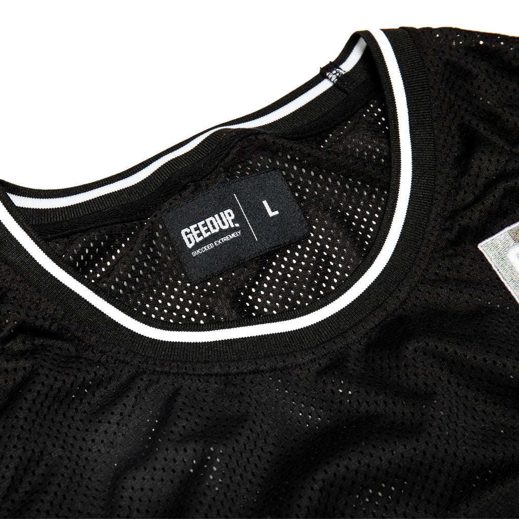 Team Logo B-Ball Jersey Black/Multi