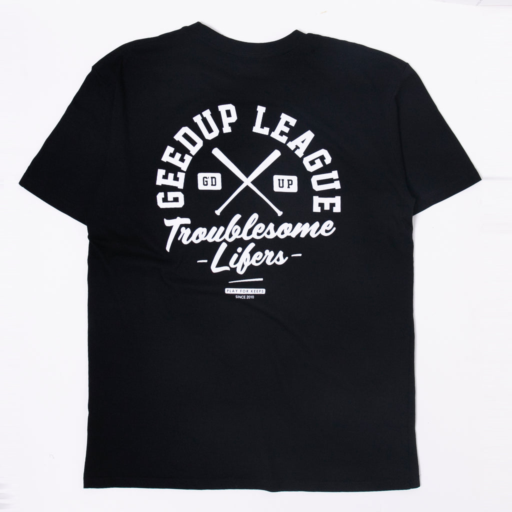 Geedup League Tee Black