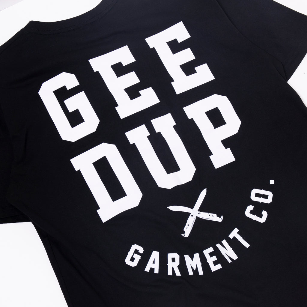 Garment Co. Tee Black
