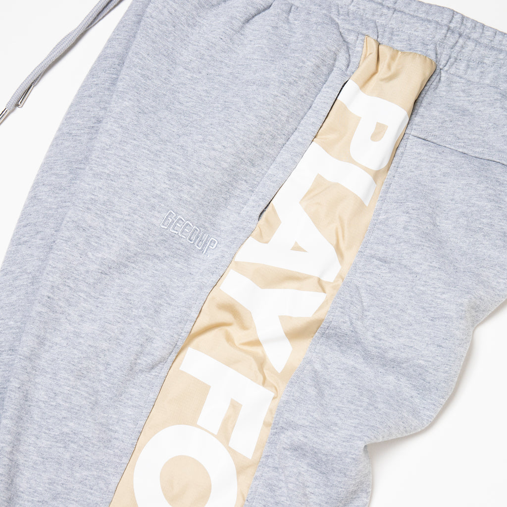 PLAY FOR KEEPS Track Pants Grey Marle