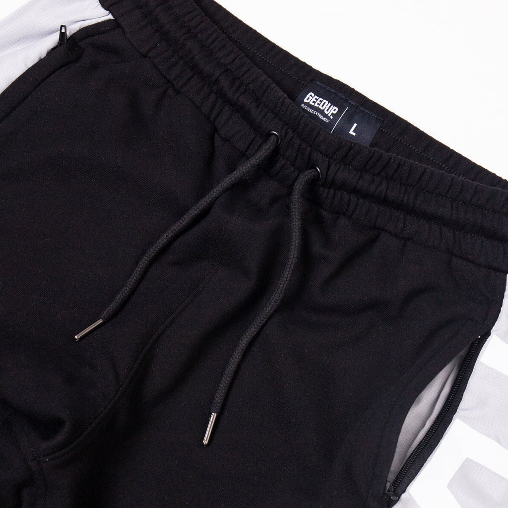 PLAY FOR KEEPS Track Pants Black