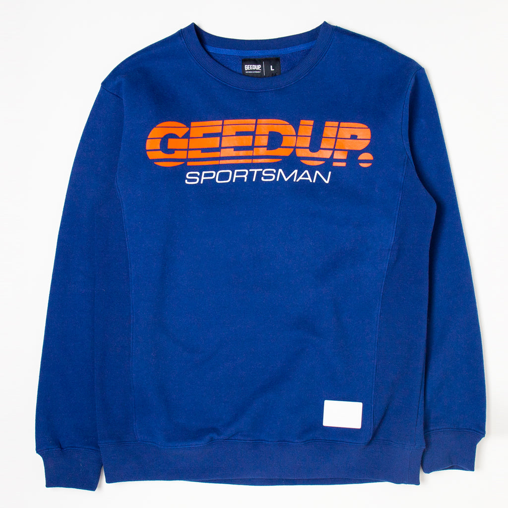 OS Sportsman Crewneck Royal Blue