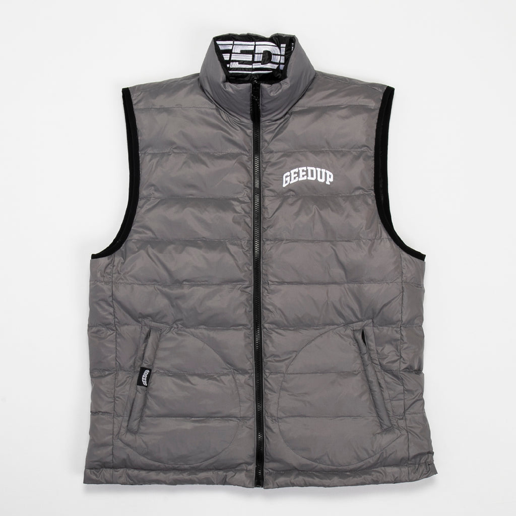 Reversible Duck Down Vest 2.0 (Sportsman/Team Logo)