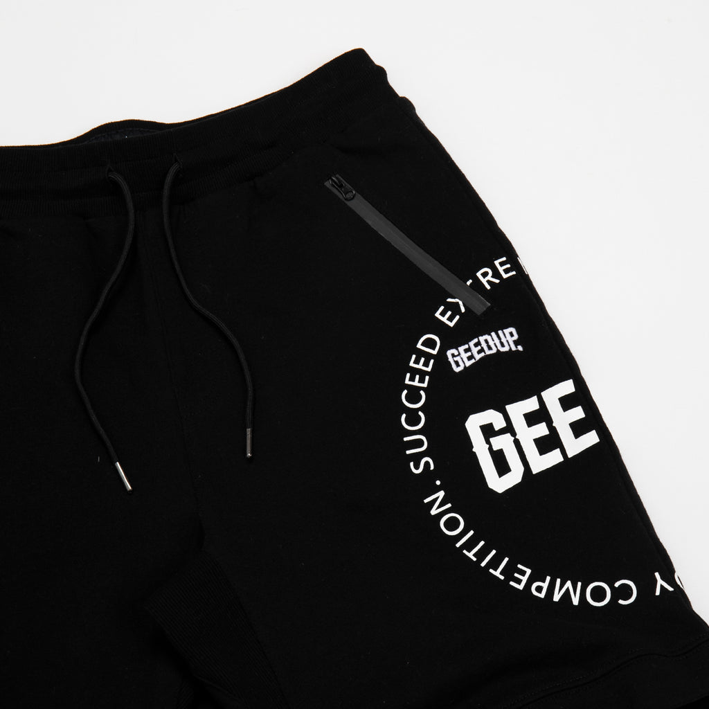 Core Logo Emblem Shorts Black