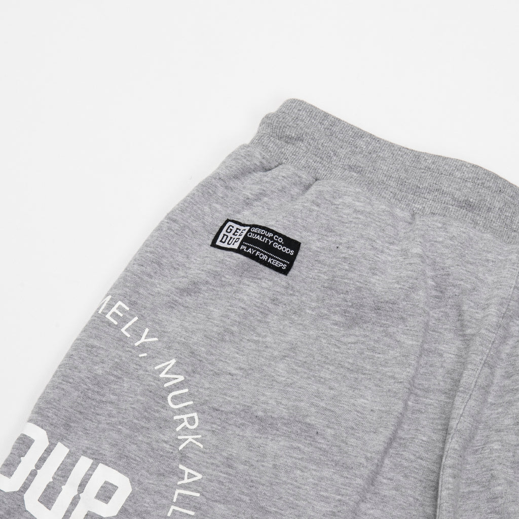 Core Logo Emblem Shorts Grey
