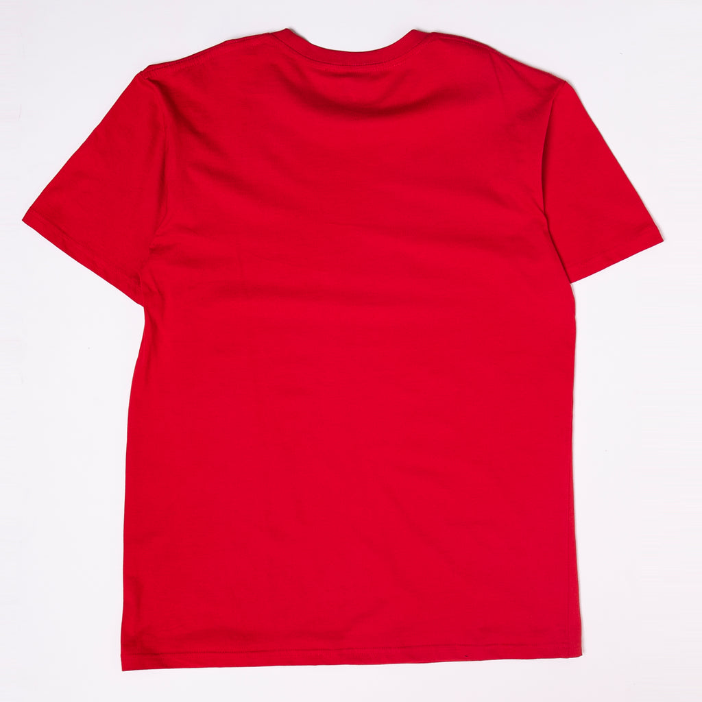 Core Logo 2 Tone Tee Red
