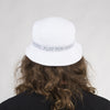PFK Tape Bucket Hat - White/Steel (Reversible)