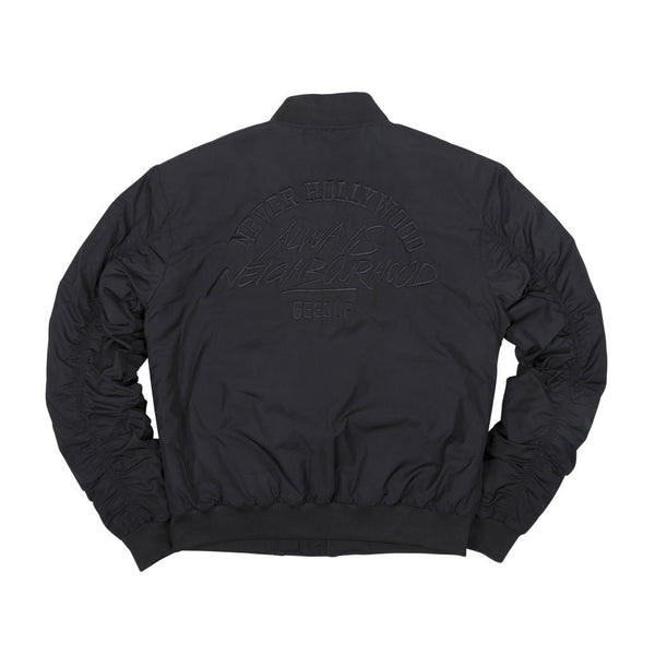Neighbourhood Bomber Jacket Black