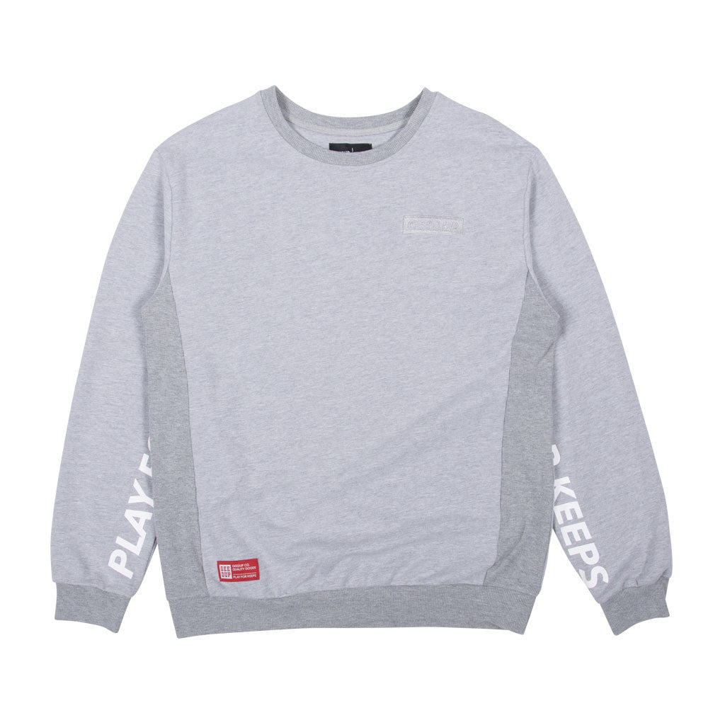 Play For Keeps Crewneck Grey