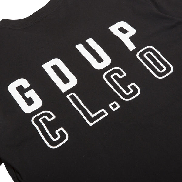 GDUP CL/CO Tee - Black