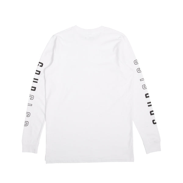 Amstaff L/S Tee White