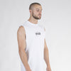 Double Up Tank - White