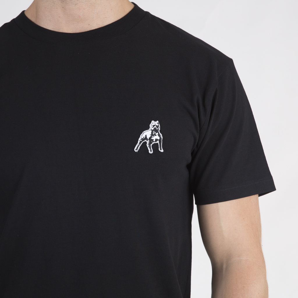 Amstaff Badge Tee - Black